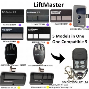 Liftmaster 315 MHz 371LM 390 MHz 971LM Liftmaster 891LM