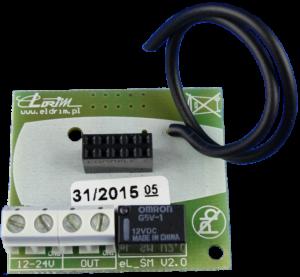 eLSM Adapter Nice SMIX do kart radiowych typu S-MIX