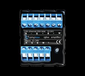 ampBox 4k- czterokanałowy wzmacniacz LED / RGBW