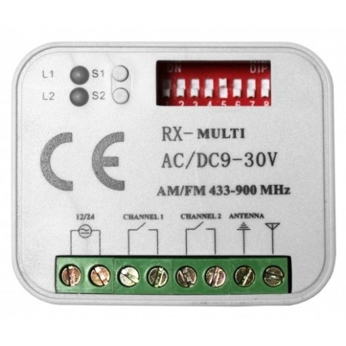 Odbiornik radiowy MULTI R2 433-900 MHz