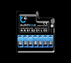 SwitchBoxD - podwójny wyłącznik 2kW - WiFi