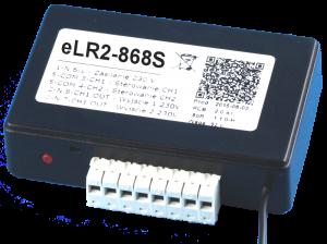 eLR2-868S - Odbiornik radiowy 2-kanałowy 230V Marantec, Hormann