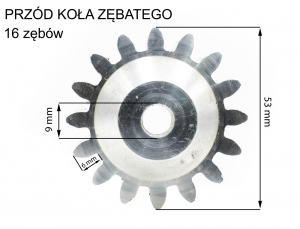 Koło zębate M-3 Wiśniowski