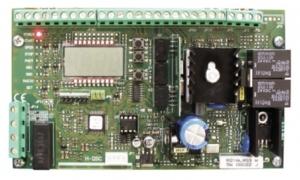 Centrala sterująca BFT HQSC-D ARES/URANO wbudowany radioodbiornik 2-kanałowy z pamięcią 63 pilotów.