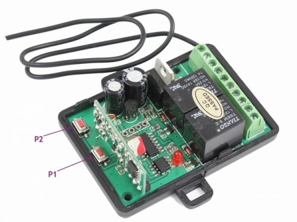 JS-084-Uniwersalna radiolinia Keeloq 433,92 MHz + 2 piloty MIDO ST1 ST2
