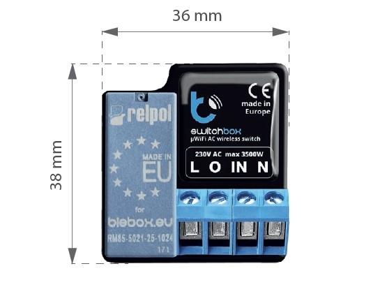 SwitchBox v3 - wyłącznik 3kW - WiFi