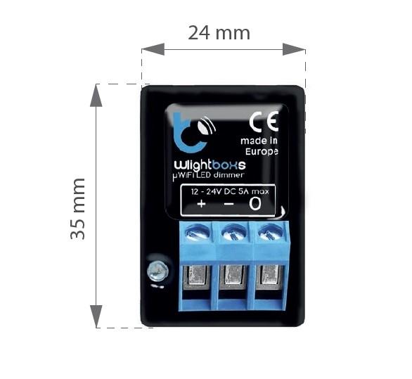 wLightBoxS - sterownik LED jednokanałowy - WiFi