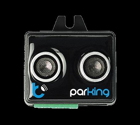 parkingSensor - czujnik parkowania LED