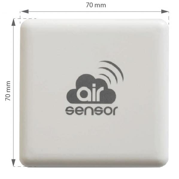 airSensor - Czujnik jakości powietrza - WiFi