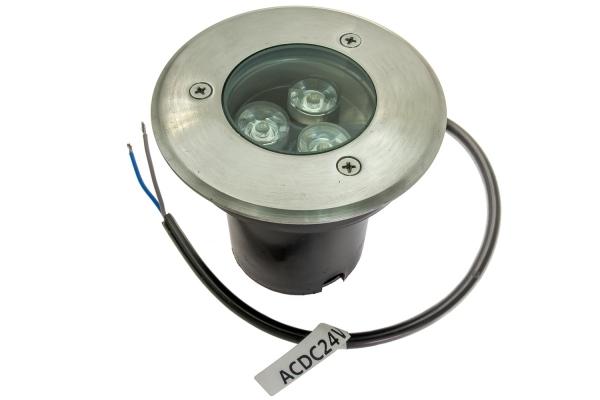 Lampa KEY TONDA wpuszczana w podłoże