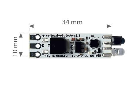 reflectiveSwitch - odbiciowy sterownik LED
